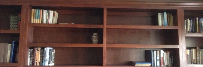 Shelves Are A Wasteland Without Books