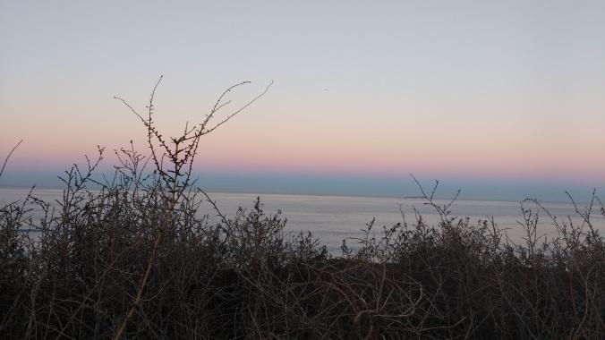 Sunset Cliffs, 6:18 a.m, January 1, 2016